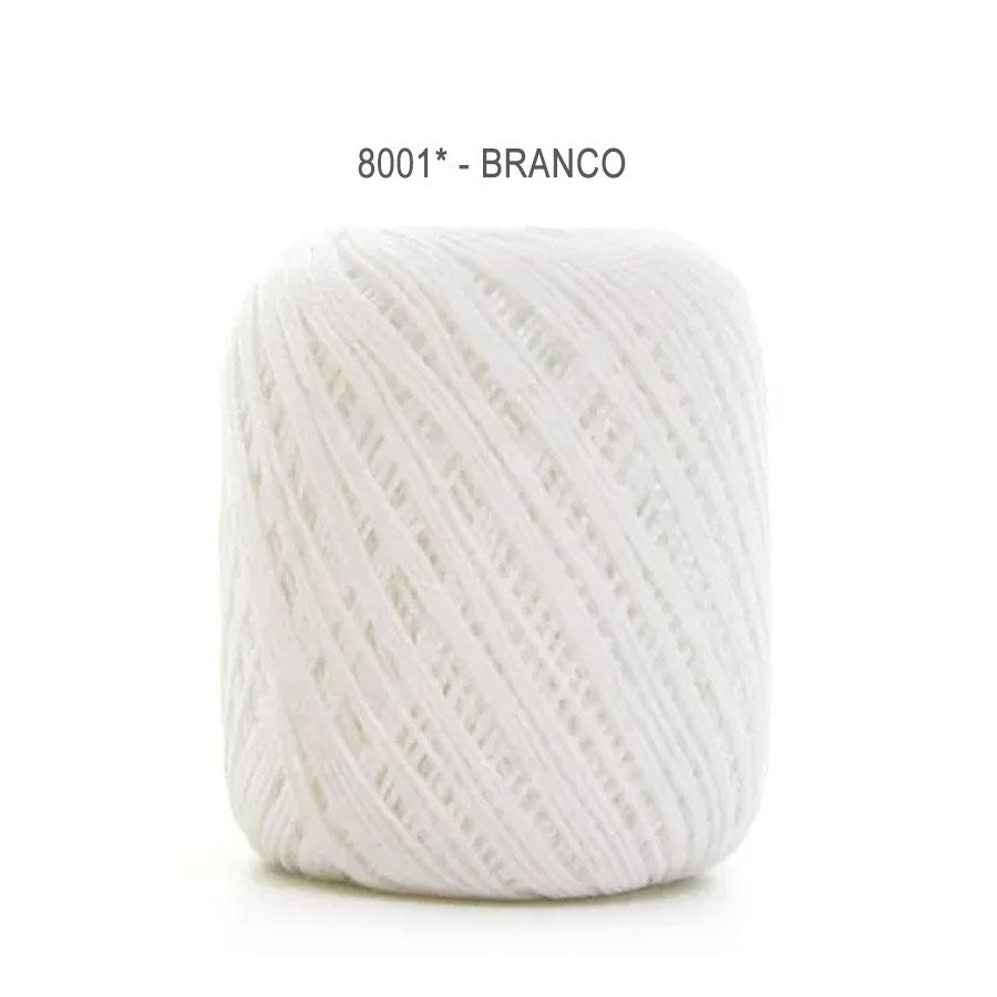 Linha Cléa 125 Cores Lisas - Circulo - 8001 - Branco