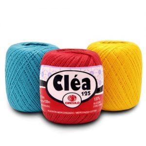 Linha Cléa 125 Cores Lisas - Circulo