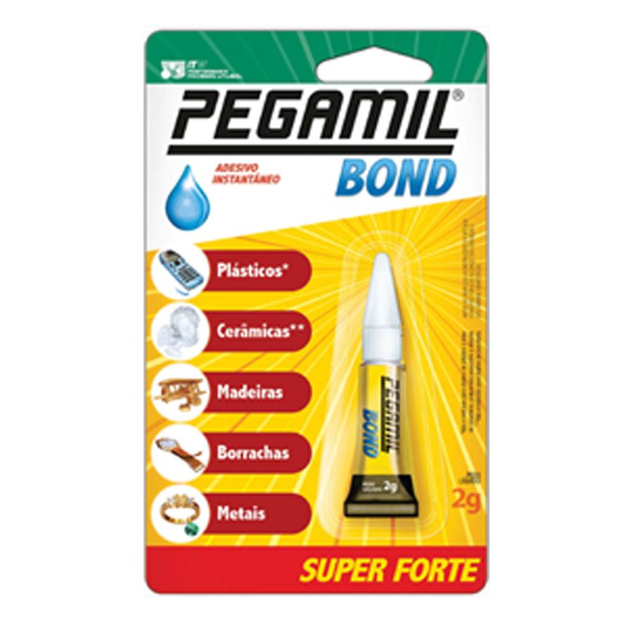 Cola Adesivo Instantâneo Bond 2g - Pegamil