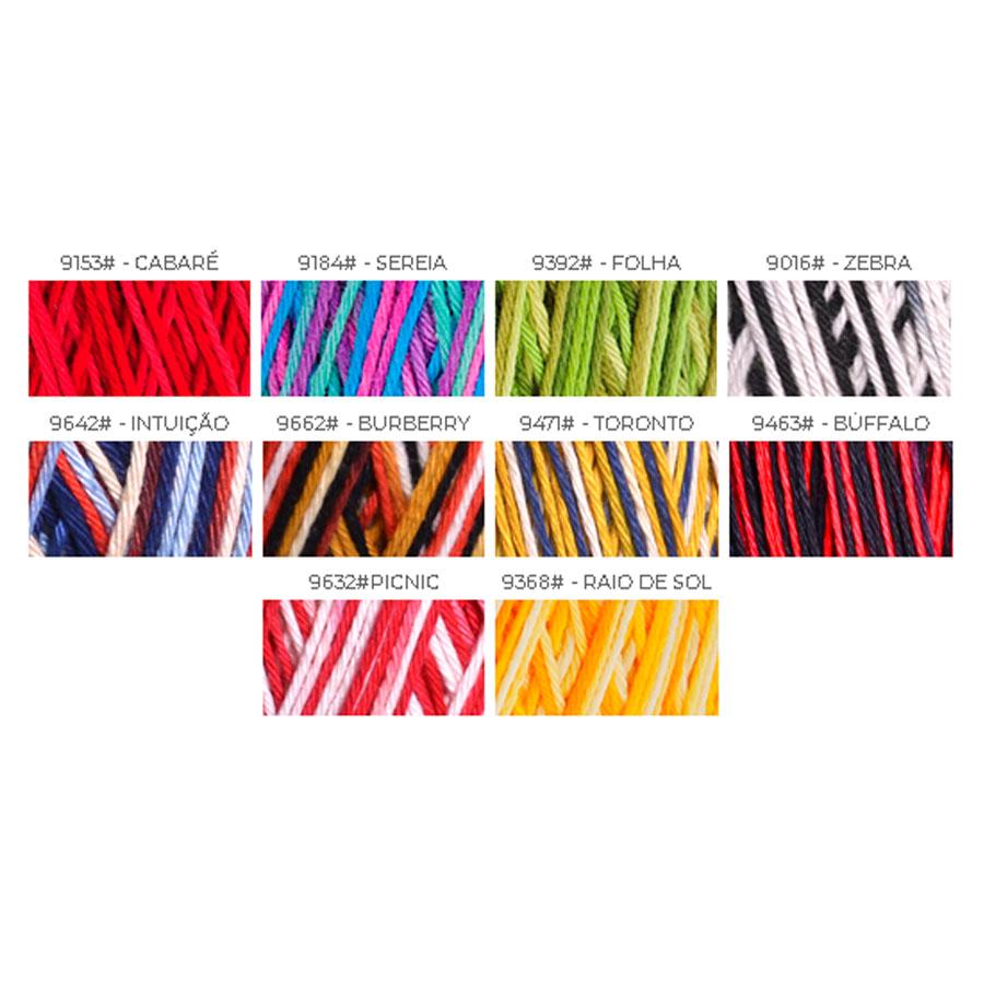 Linha Charme 396m Multicolor - Circulo