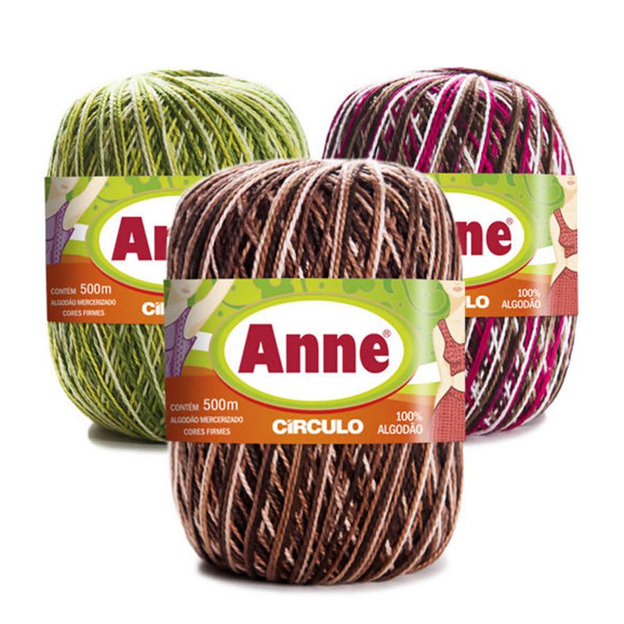 Linha Anne 500m Multicolor - Circulo
