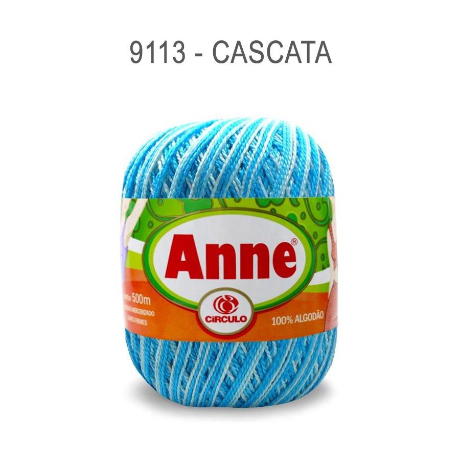 Linha Anne 500m Multicolor - Circulo - 9113 - Cascata