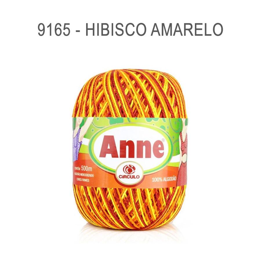 Linha Anne 500m Multicolor - Circulo - 9165 - Hibisco Amarelo