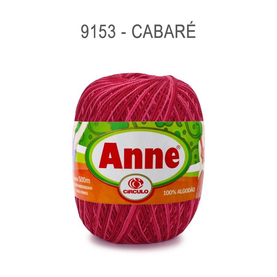 Linha Anne 500m Multicolor - Circulo - 9153 - Cabaré