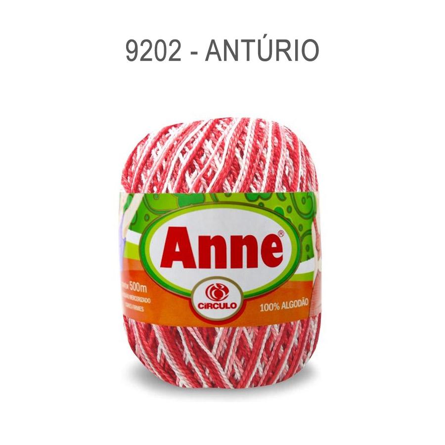 Linha Anne 500m Multicolor - Circulo - 9202 - Antúrio