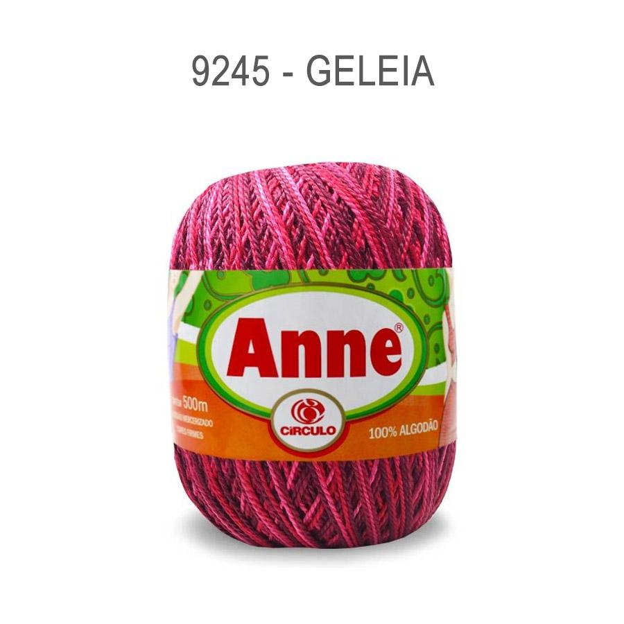 Linha Anne 500m Multicolor - Circulo - 9245 - Geleia