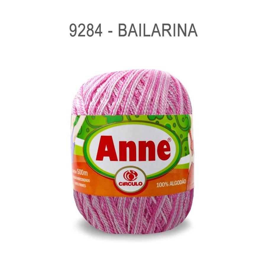 Linha Anne 500m Multicolor - Circulo - 9284 - Bailarina