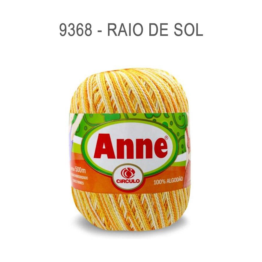 Linha Anne 500m Multicolor - Circulo - 9368 - Raio de Sol
