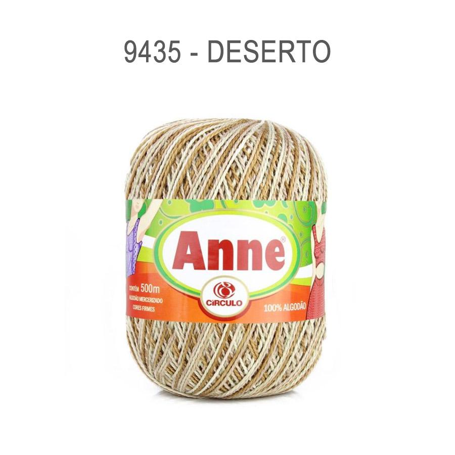 Linha Anne 500m Multicolor - Circulo - 9435 - Deserto