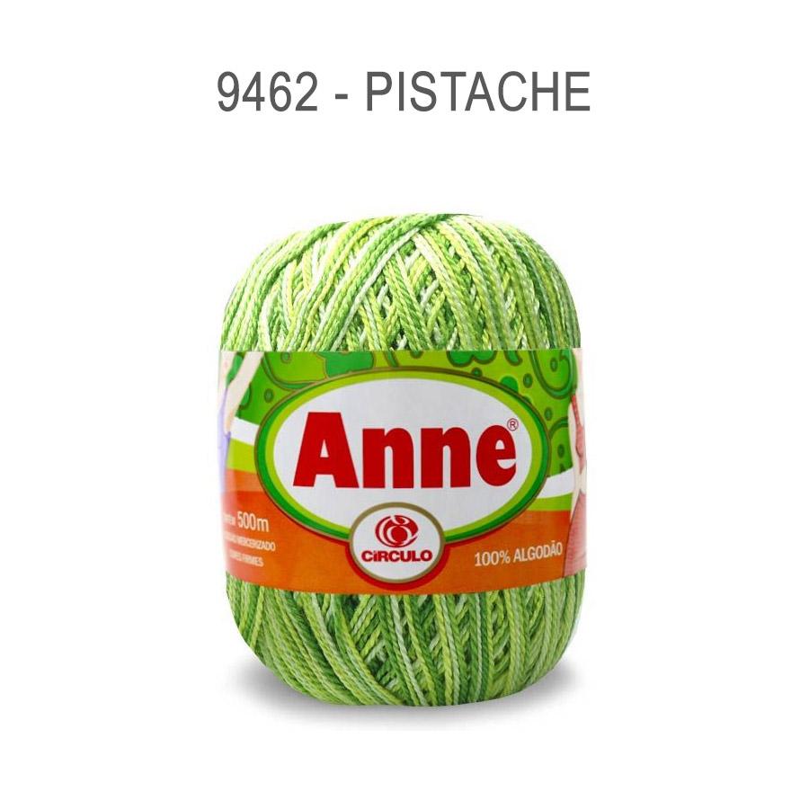 Linha Anne 500m Multicolor - Circulo - 9462 - Pistache