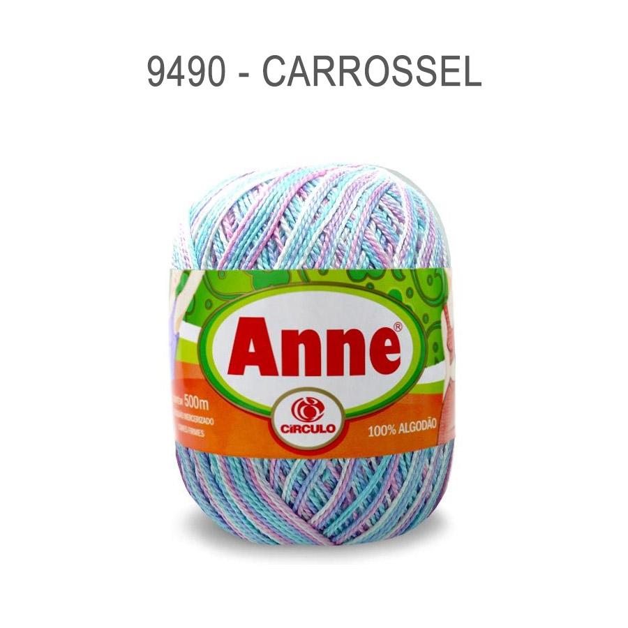 Linha Anne 500m Multicolor - Circulo - 9490 - Carrossel