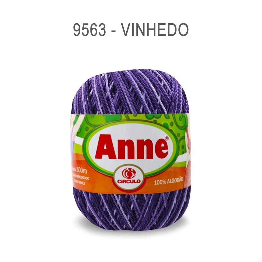 Linha Anne 500m Multicolor - Circulo - 9563 - Vinhedo