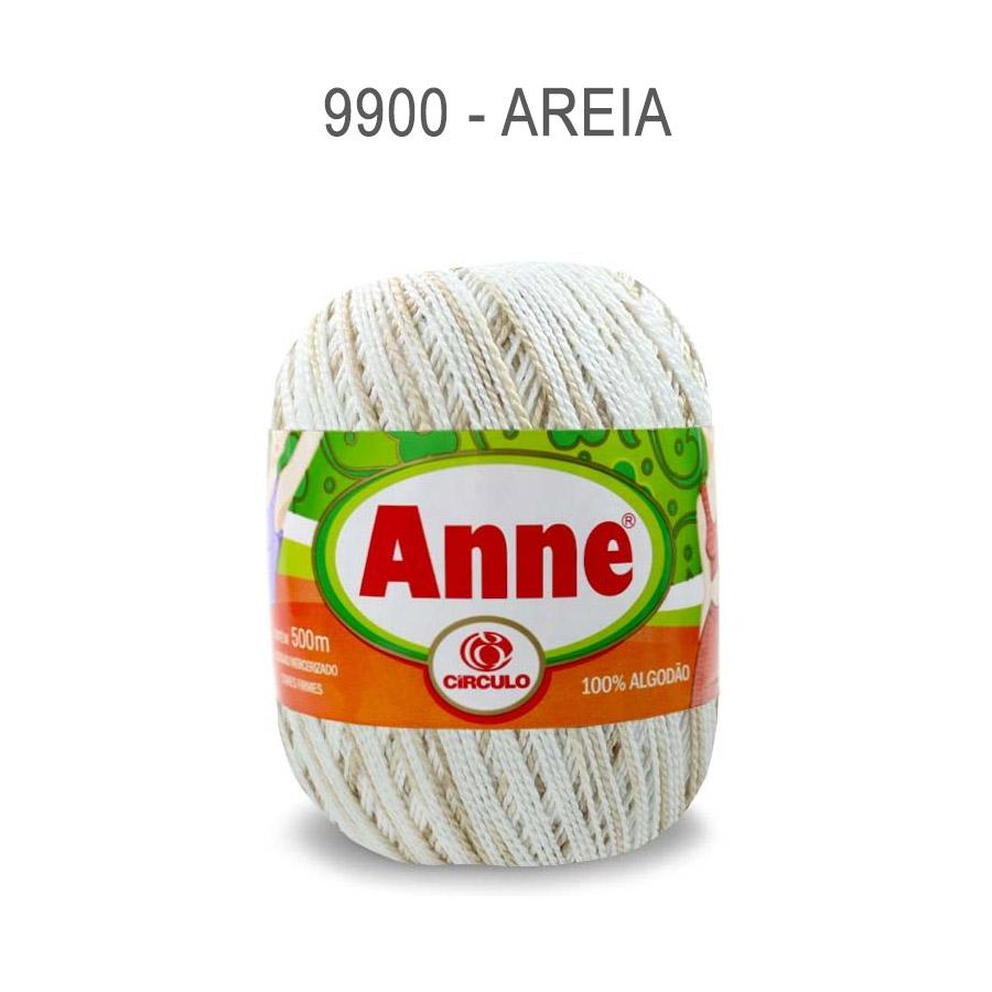 Linha Anne 500m Multicolor - Circulo - 9900 - Areia