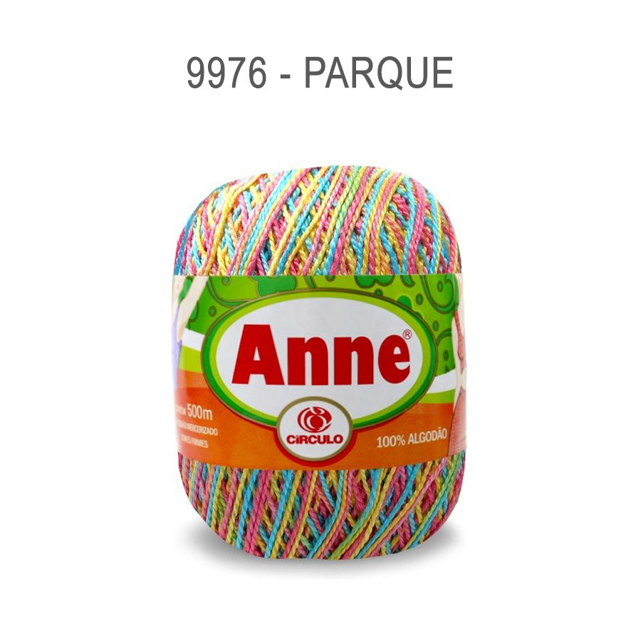 Linha Anne 500m Multicolor - Circulo - 9976 - Parque