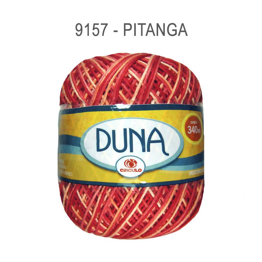 Linha Duna 100g Multicolor - Circulo - 9157 - Pitanga