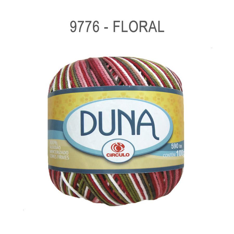 Linha Duna 100g Multicolor - Circulo - 9776 - Floral