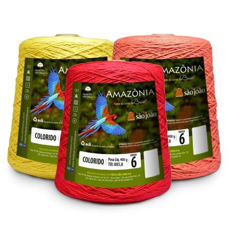 Barbante Amazônia nº06 400g - São João
