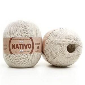 Barbante Nativo nº08 700g Natural - São João
