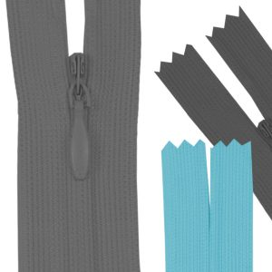Ziper Invisível 20cm c/ 1un - Luli
