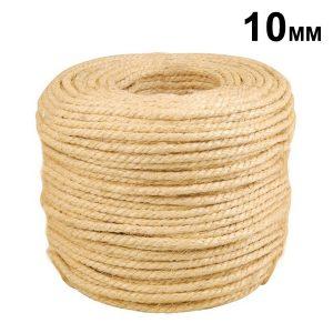 Corda de Sisal 10mm c/ 1m - CLC Cordas