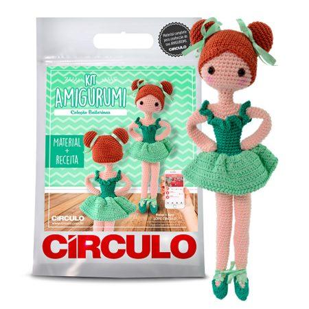 Kit Amigurumi Bailarinas - Circulo