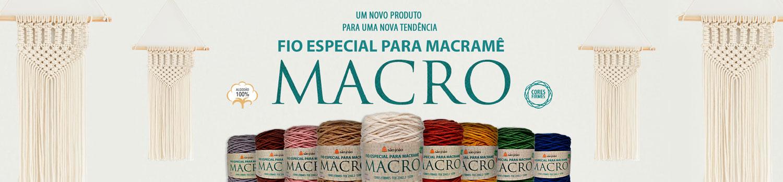 Fio Especial Macro para Macramê